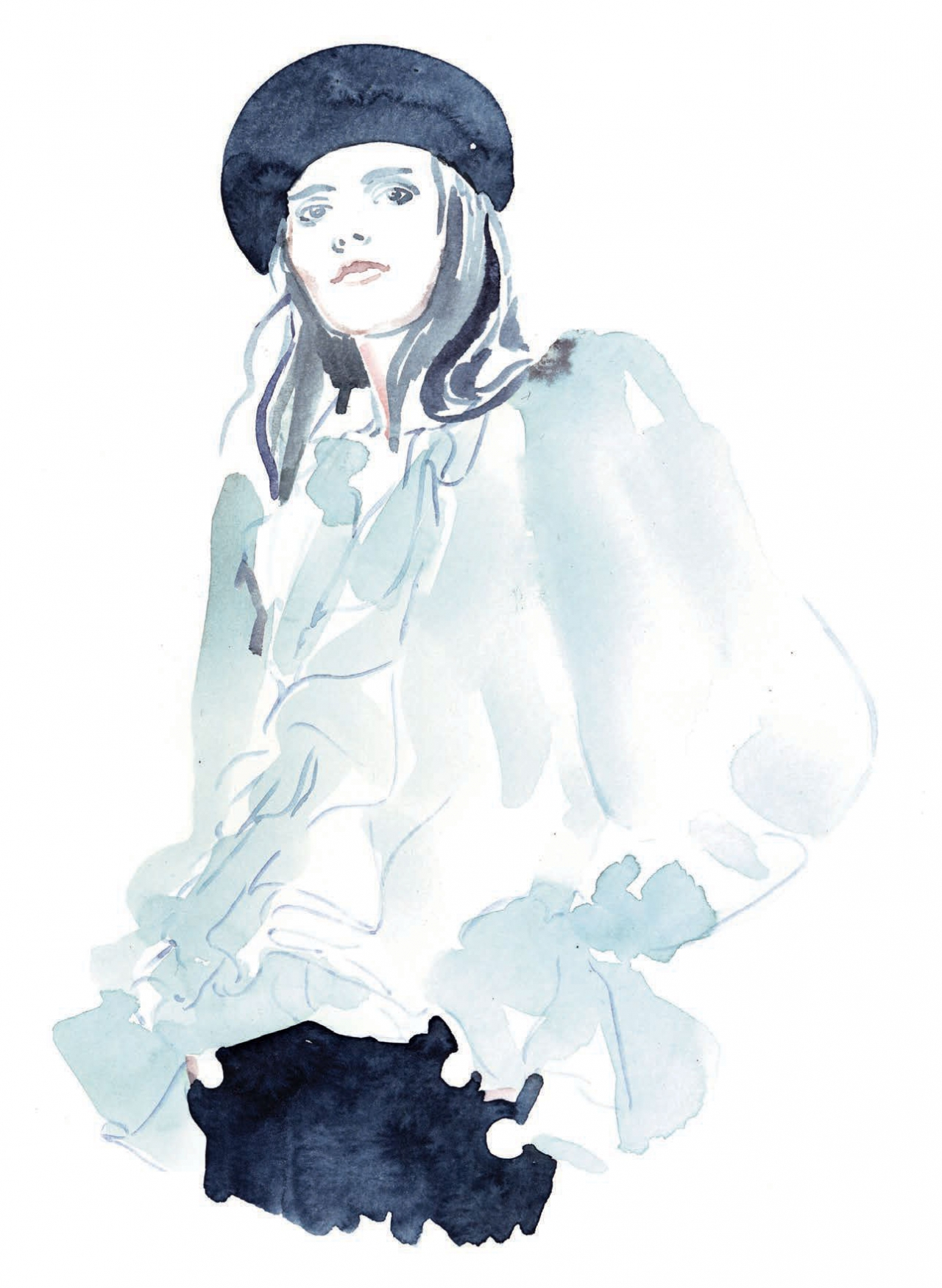 Haute Couture Illustrations for Die Presse