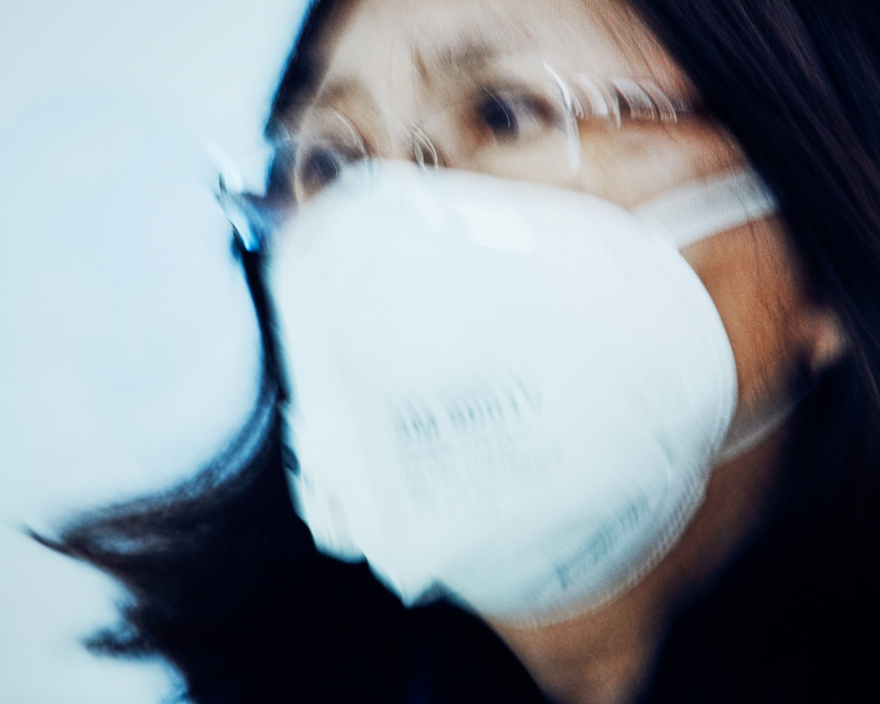 Masks at NYC Airports for TIME
