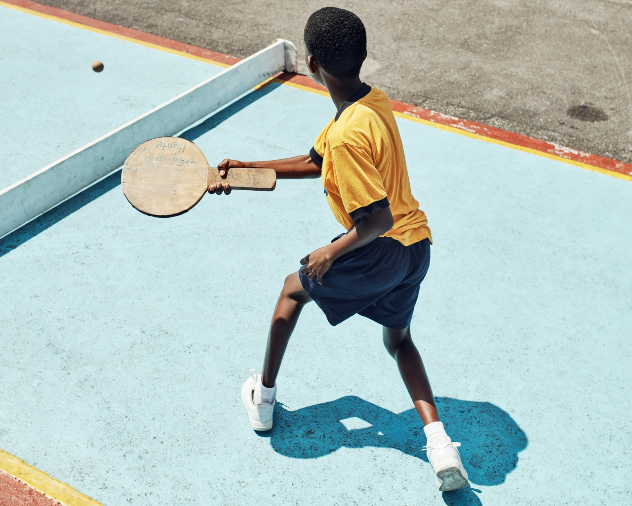Road Tennis for Airbnb Magazine