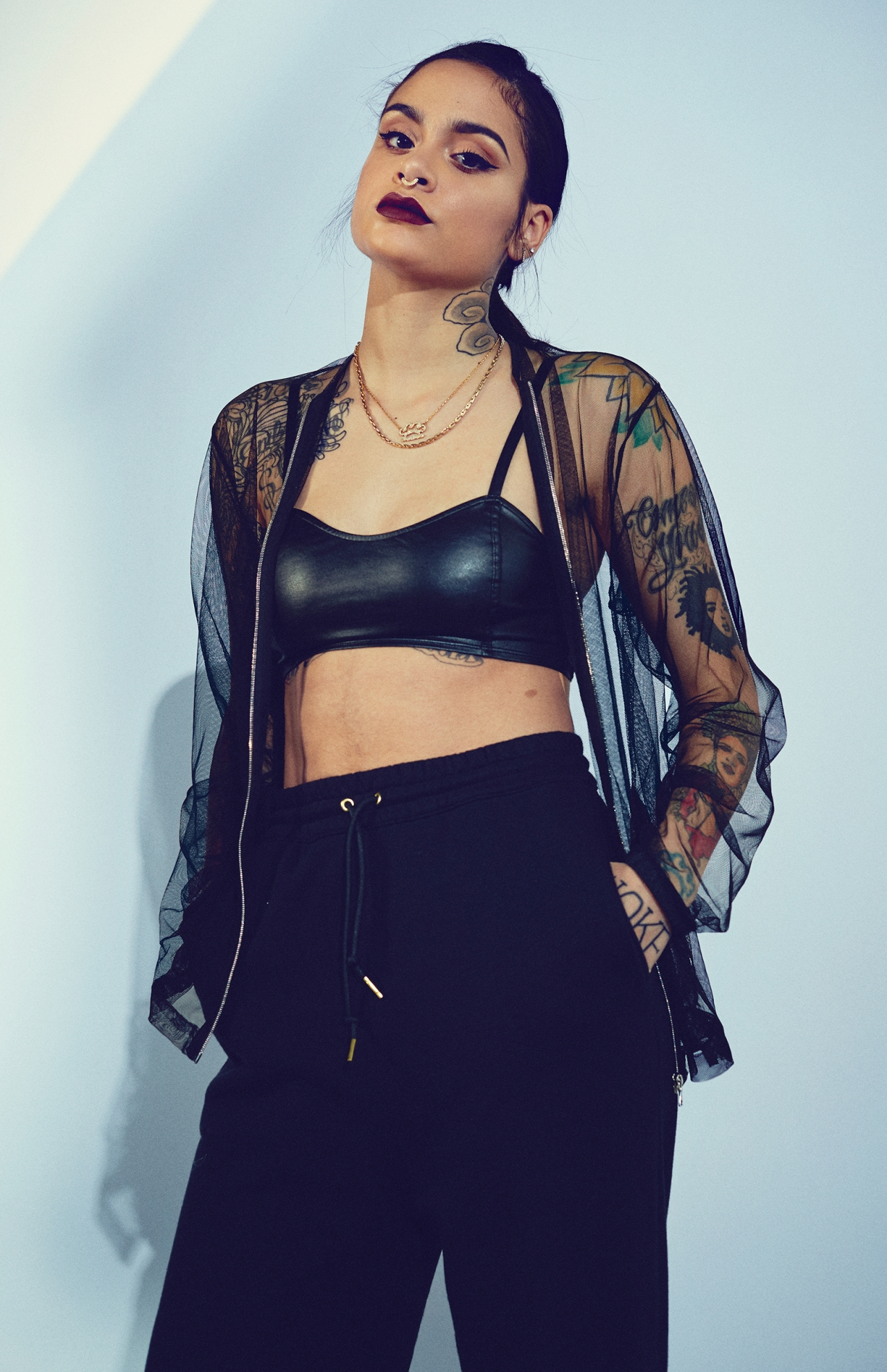 Singer Kehlani for Wonderland